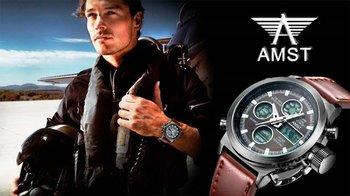 Часы, которые выбирают настоящие мужчины! Армейские часы AMST 3003