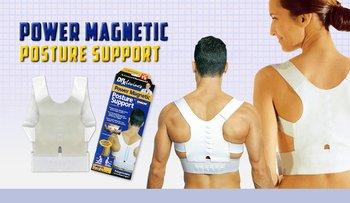 Исправляем осанку за 30 дней! Магнитный корректор Power Magnetic Posture Support