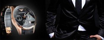 Почувствуй роскошь на своей руке! Наручные часы Emporio Armani