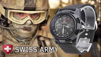 Часы, которые выбирают сильные мужчины! Армейские часы Swiss Army