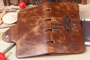 Ковбойский кошелек Bailini Genuine Leather – вещь для настоящих мужчин!