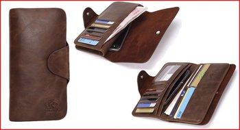 Стильное автопортмоне из натуральной кожи CarWallet: уникальный дизайн
