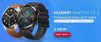 Умные часы Huawei Watch GT 2: обзор, характеристики, цены