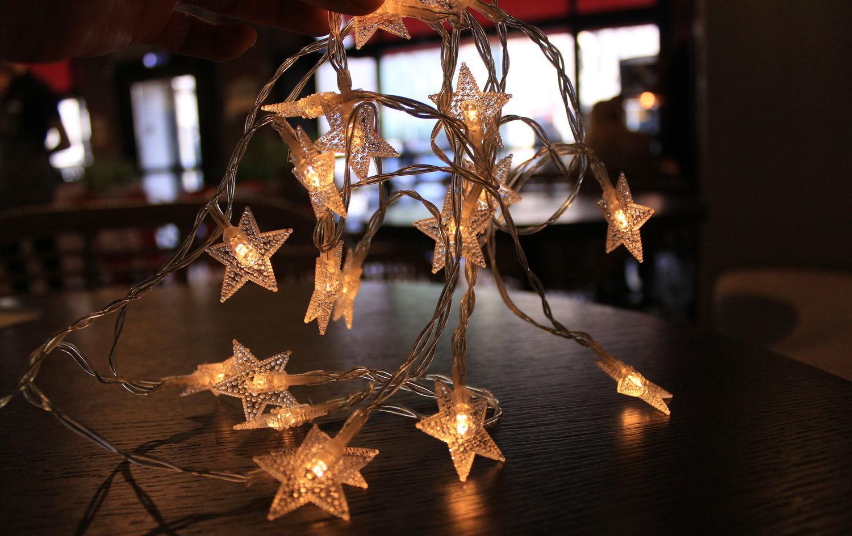 Новогодняя светодиодная гирлянда «Звездопад»