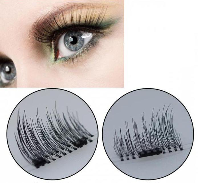 magnet lashes магнитные накладные ресницы
