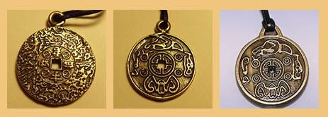 амулет из настоящей царской монеты