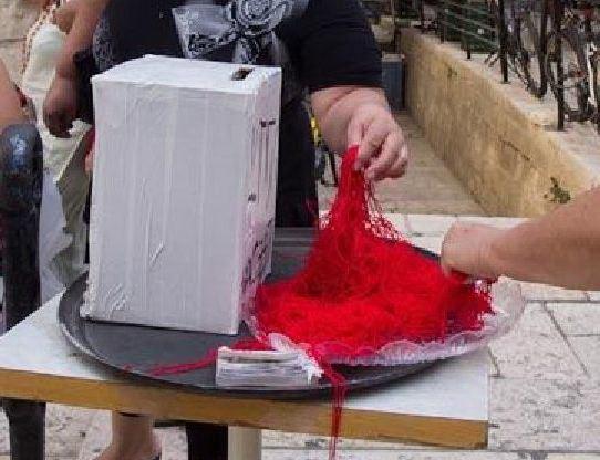 Красная нитка в израиле